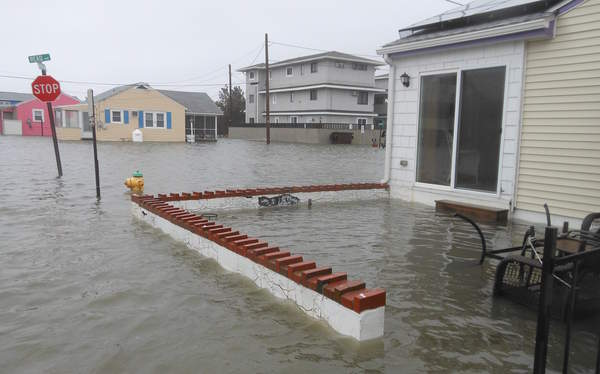 Dewey Beach suffered widespread flooding during Winter Storm Jonas in January 2016.